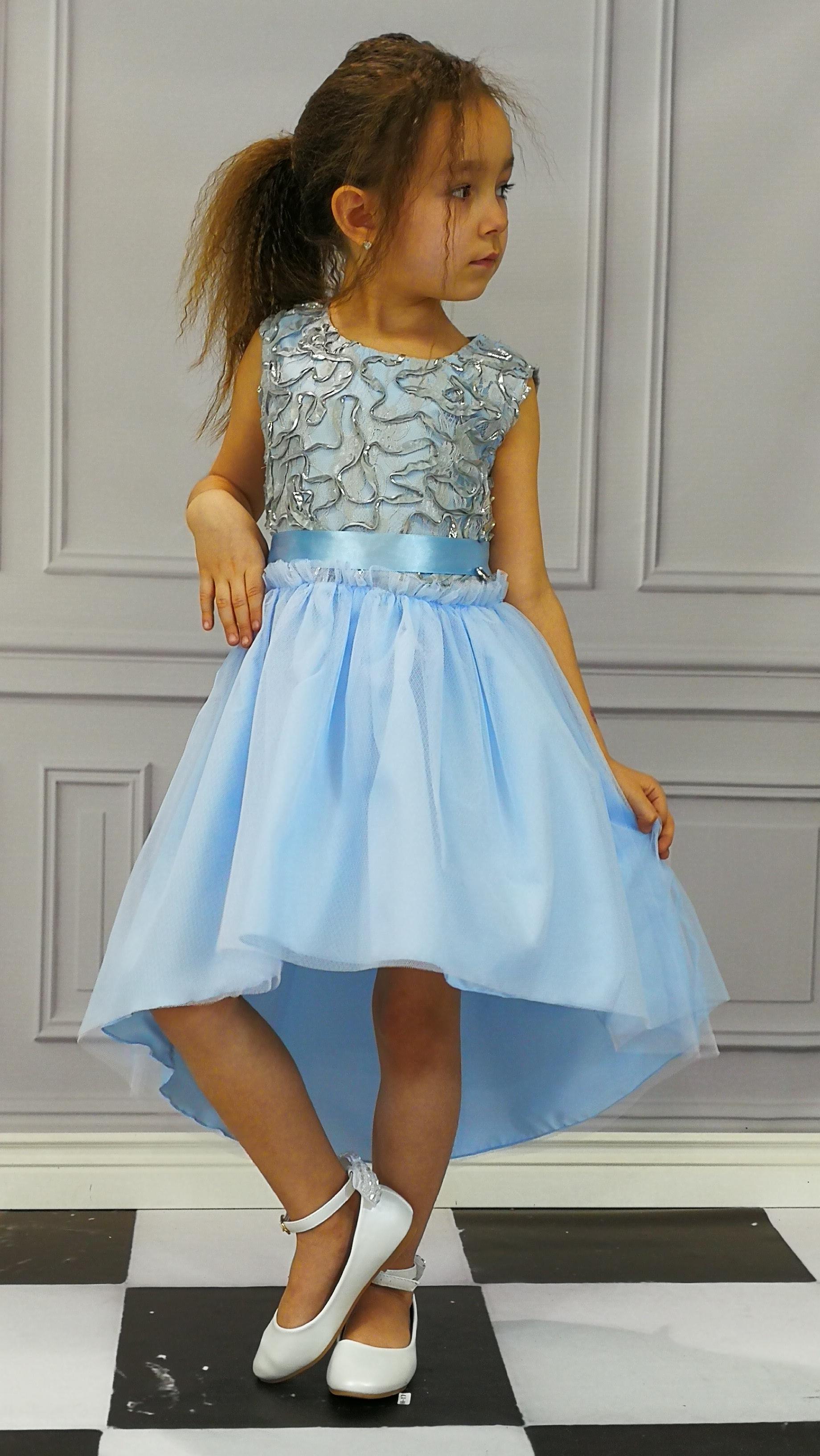 Dívčí šaty společenské