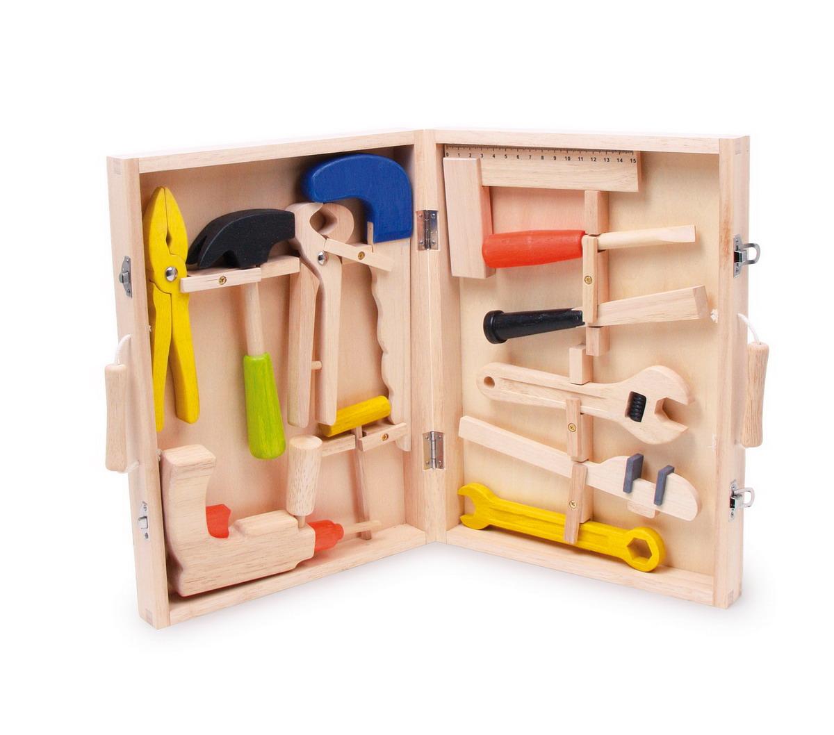 """Dřevěný kufřík s nářadím """"Lino"""""""