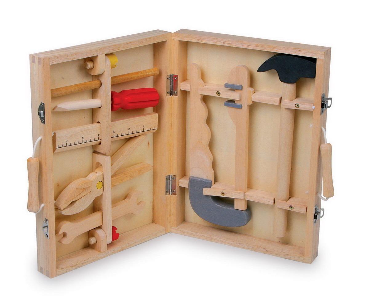 """Dřevěný kufřík s nářadím """"Maik"""""""