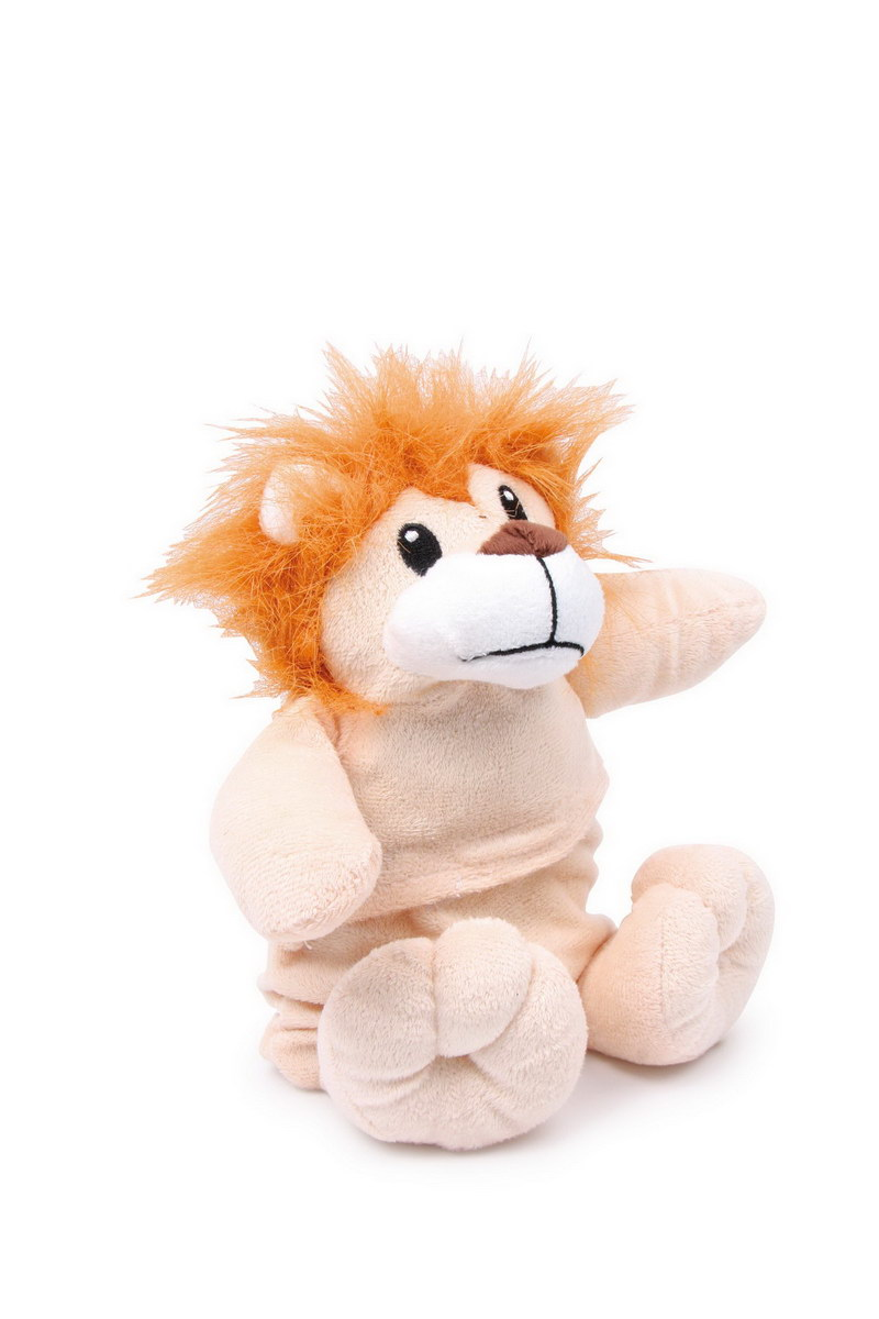 Plyšová hračka - zahřívací - lev