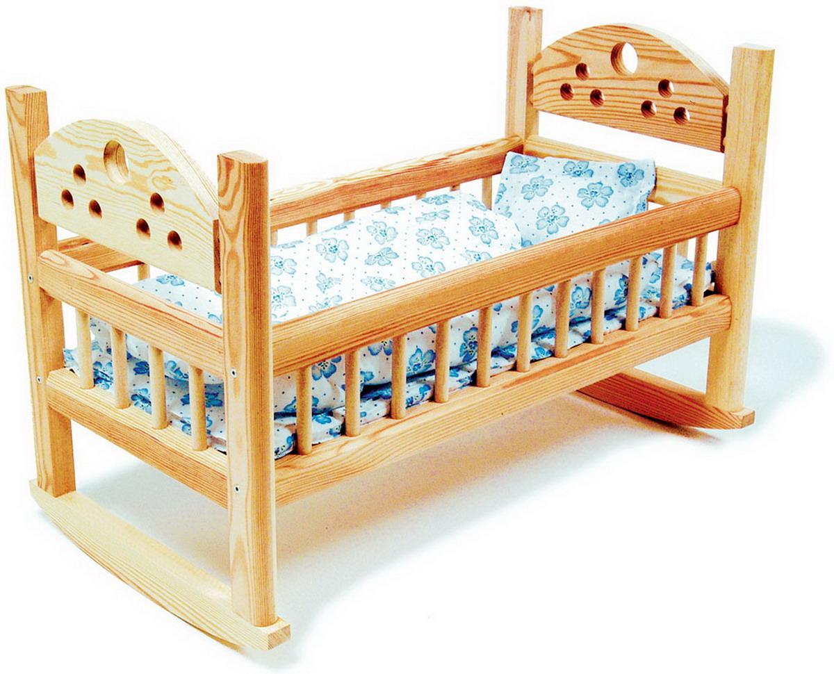 Kolébka pro panenky dřevěná
