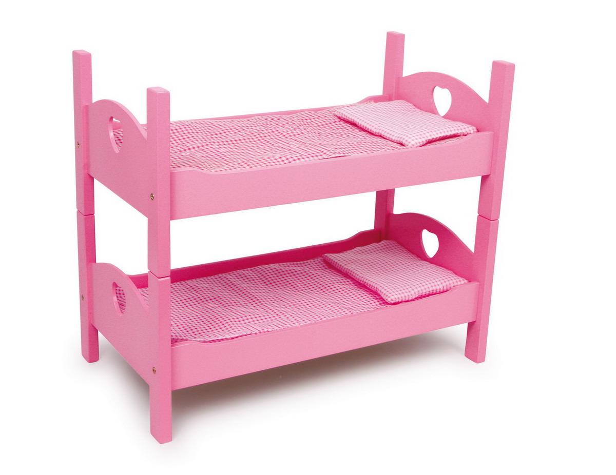 Postel pro panenky dřevěná - palanda