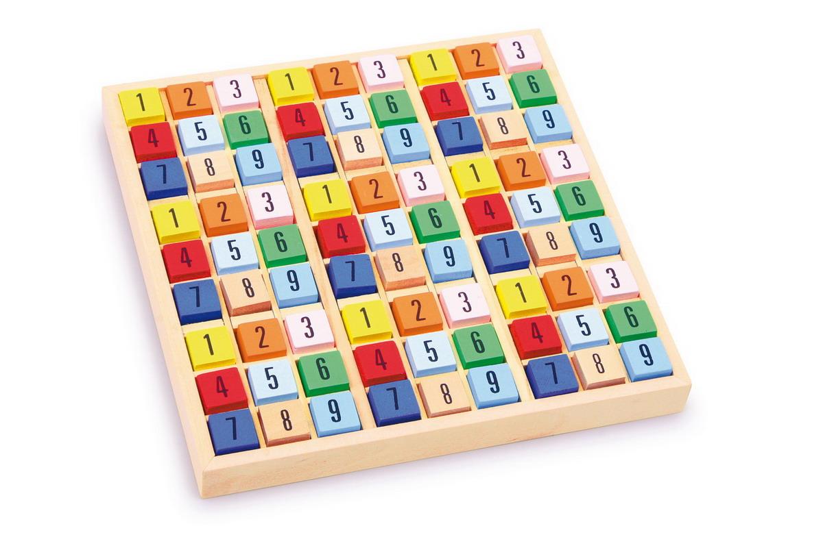 Sudoku dřevěné