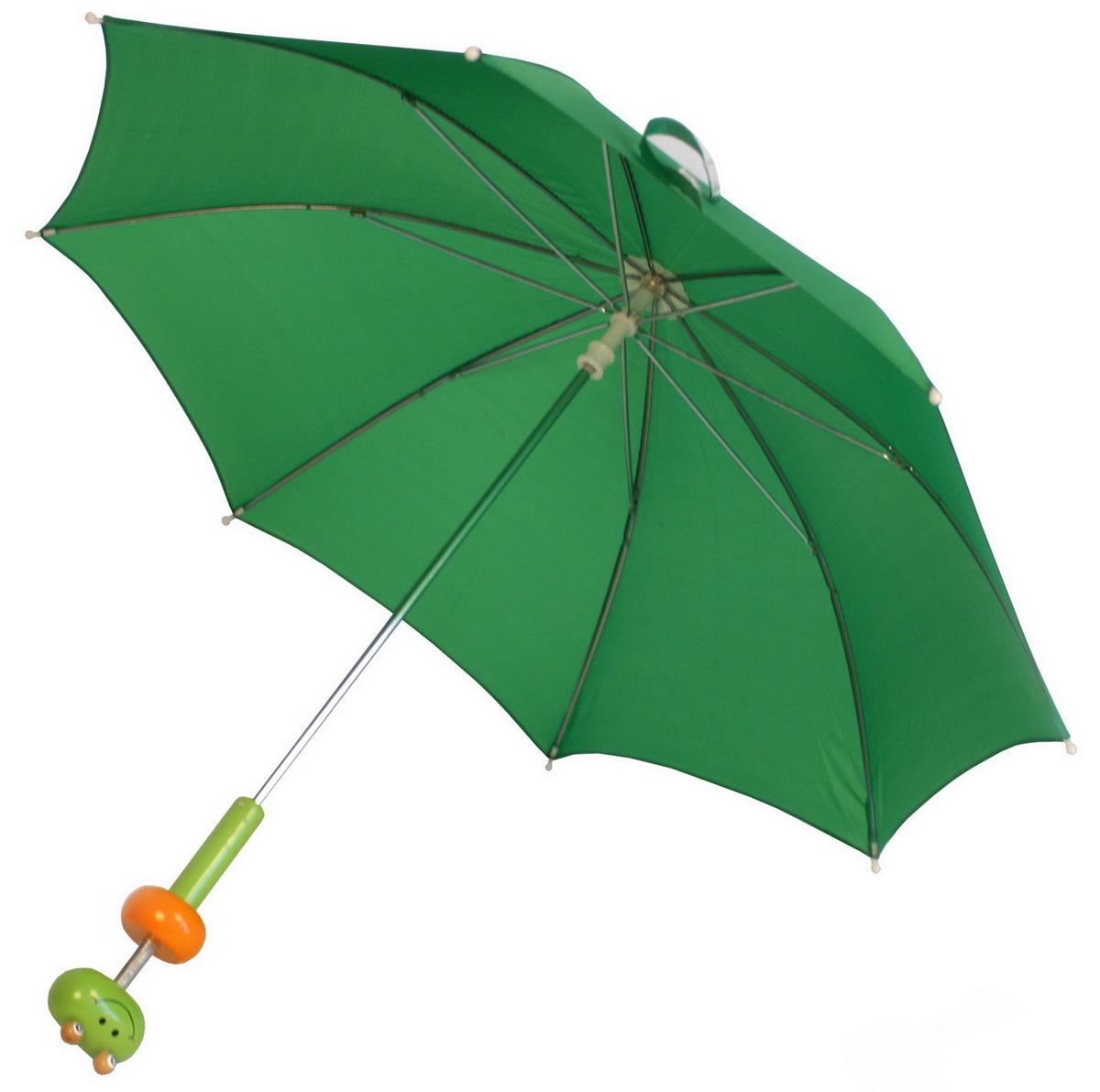 """Dětský deštník s dřevěnou rukojetí """"žabka"""""""