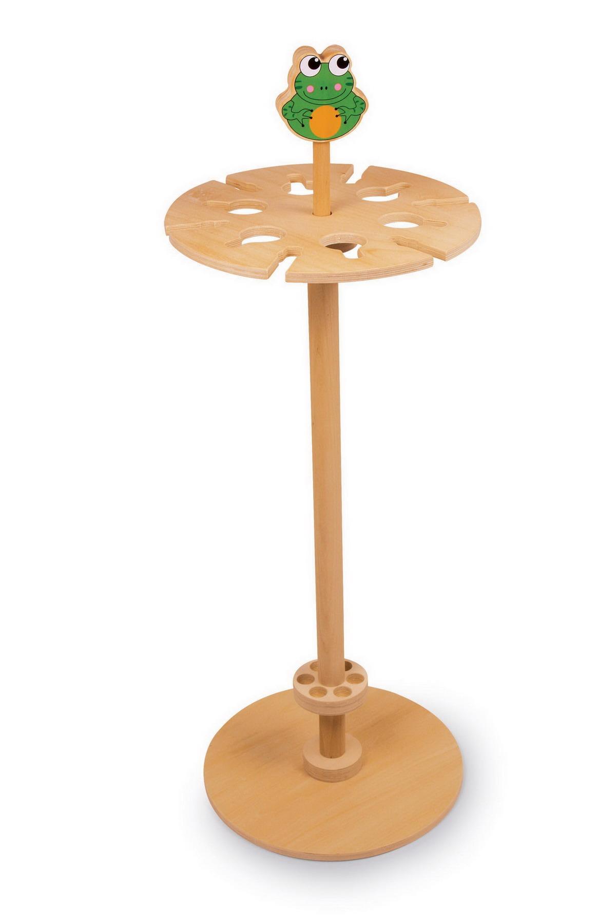 Dřevěný stojan - držadlo na deštníky a jiné