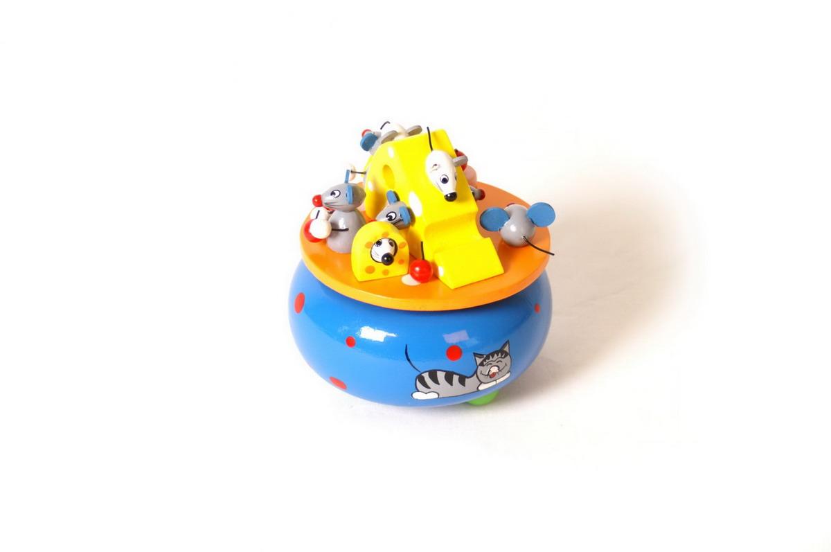 """Hrací - hudební skříňka """"myší sen"""""""