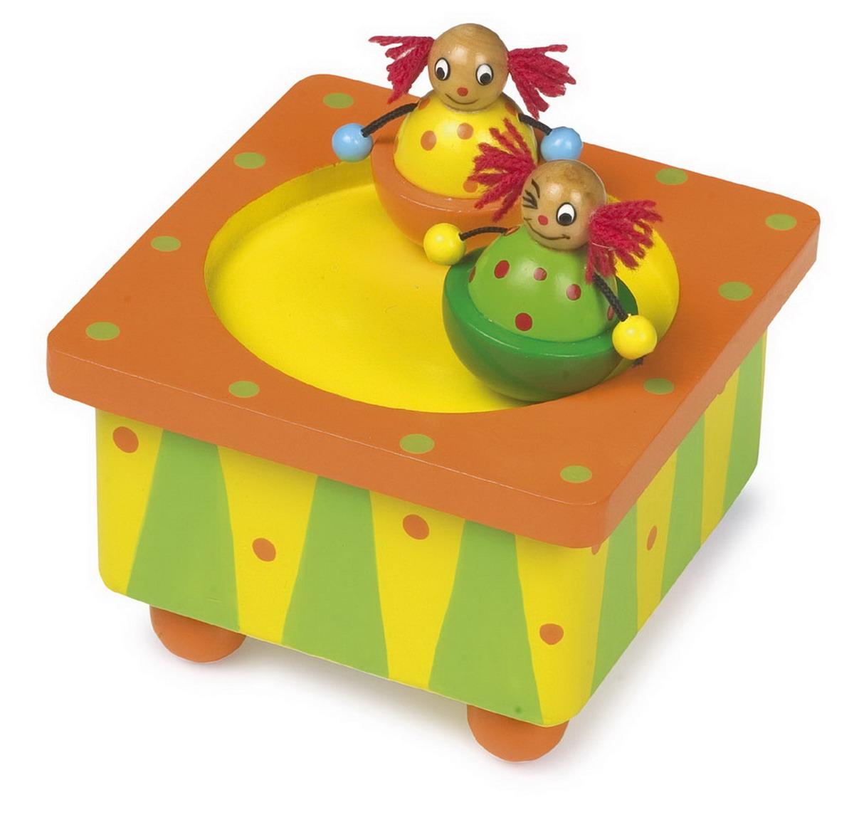 """Hrací - hudební skříňka """"klauni"""""""