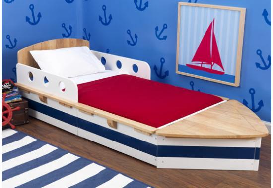 """Dětská postel dřevěná """"Loď"""" - poštovné zdarma"""