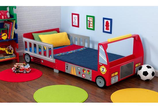 """Dětská postel dřevěná """"Hasičské auto"""""""