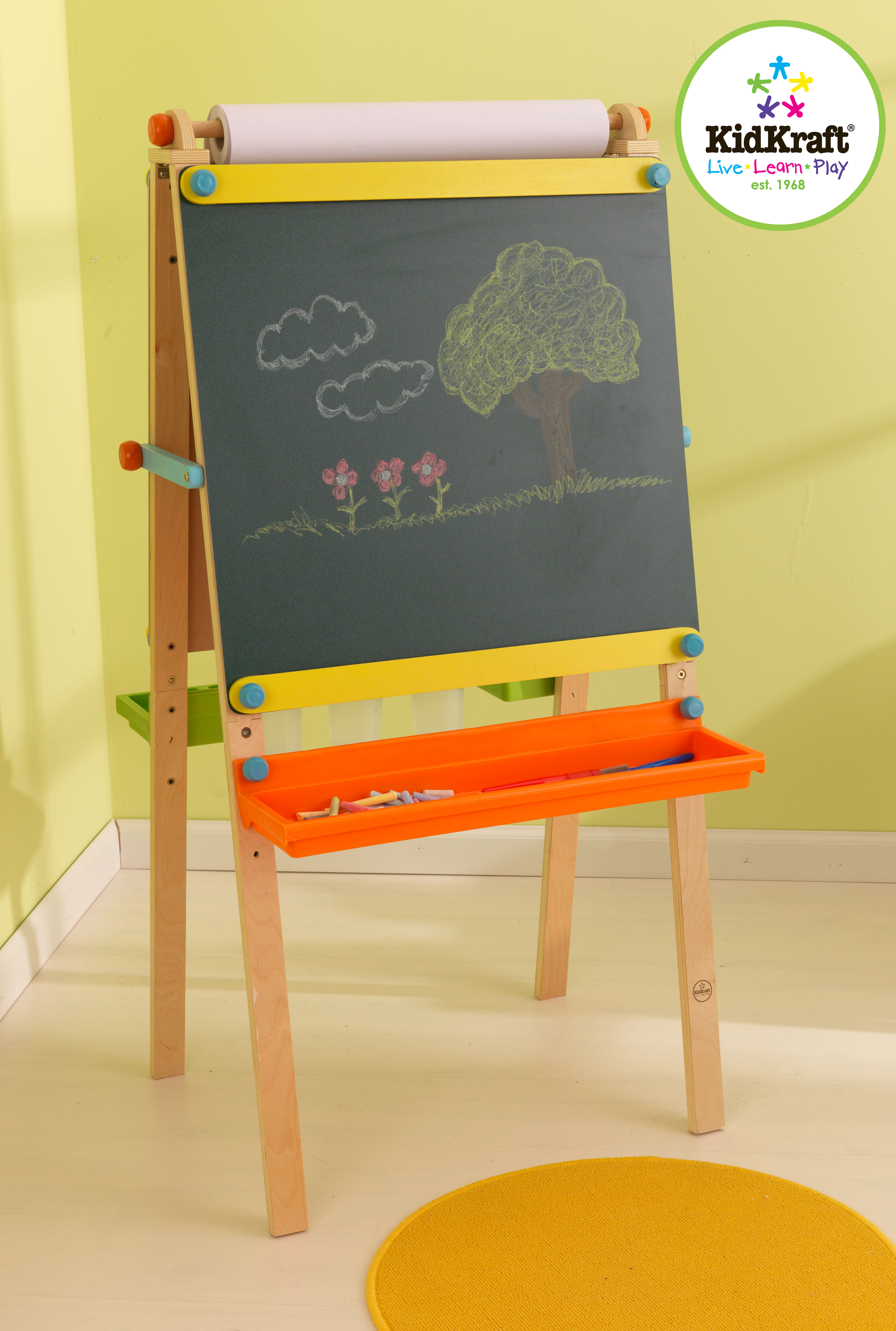 Tabule na kreslení dřevěná