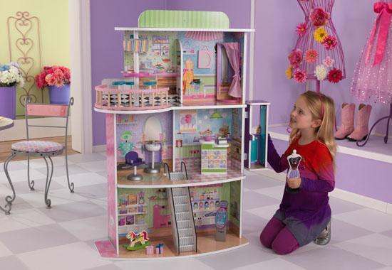 Domeček pro panenky - nákupní centrum