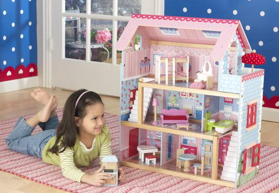 """Dřevěný domeček pro panenky """"Chelsea"""""""