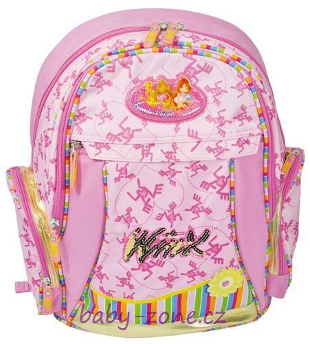 Batoh WINX Club růžový