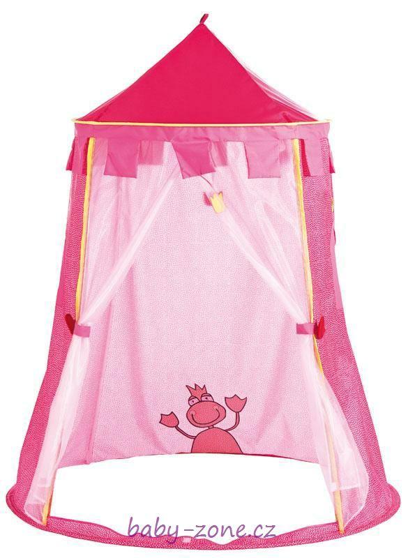 Dětský stan na hraní - růžový (190x150 cm)