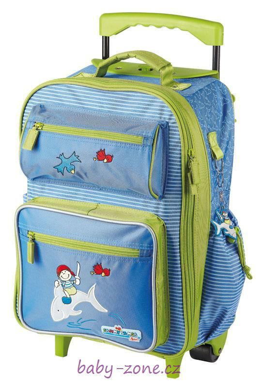Dětský cestovní - školní kufr Sammy Samoa