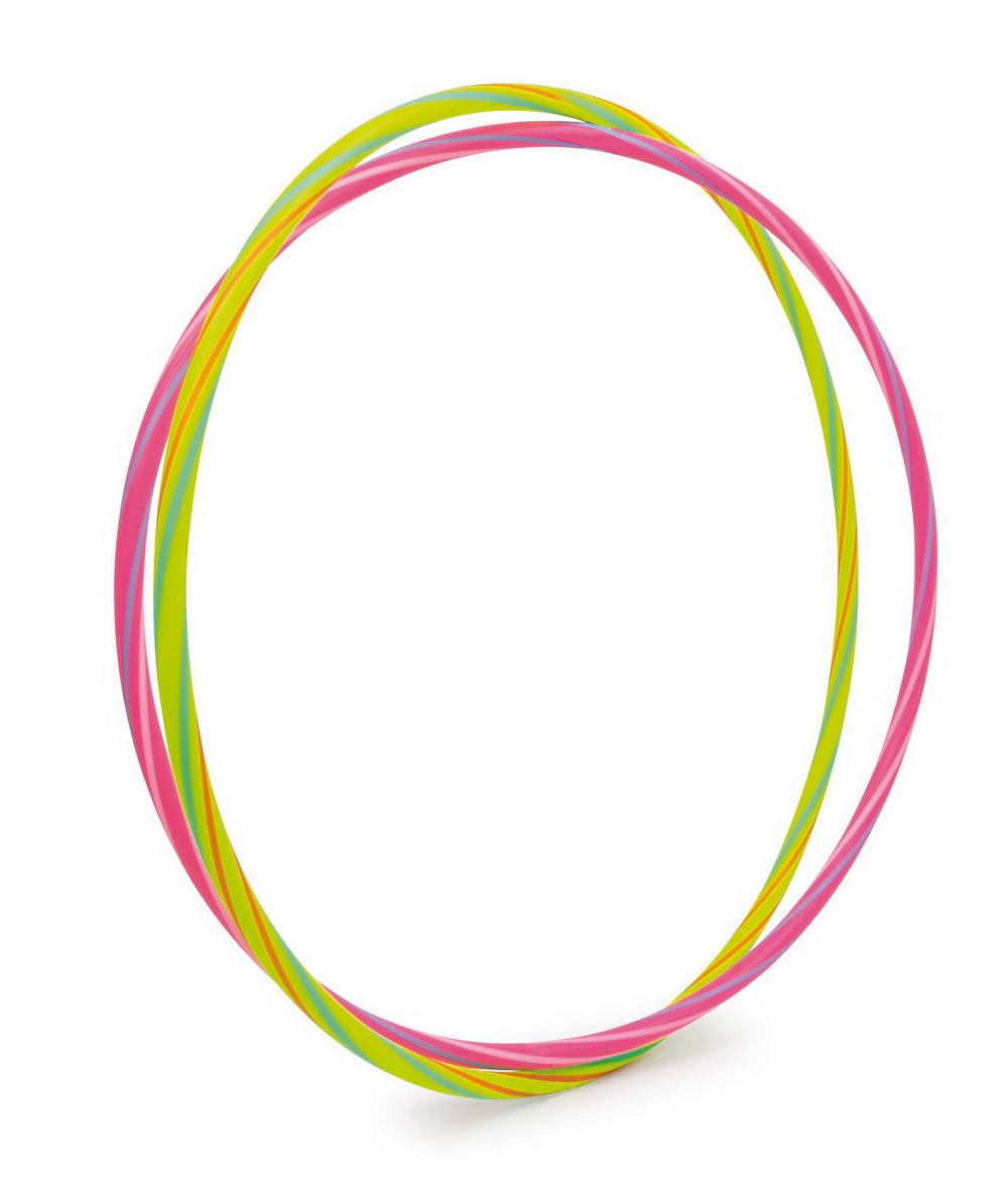 Obruč Hula Hoop neonová zelená nebo růžová