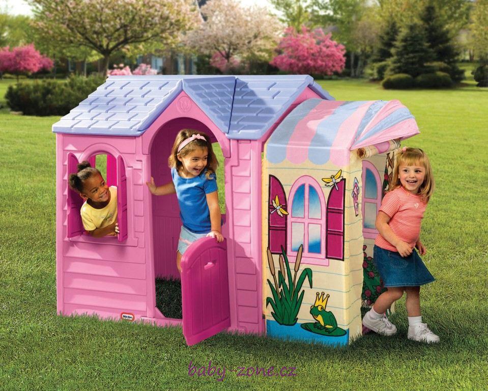 Domeček pro princezny dětský plastový