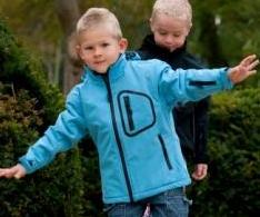 Fotografie dětská softshellová bunda