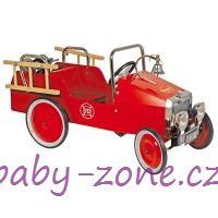 Šlapací auto BAGHERA Hasičský vůz