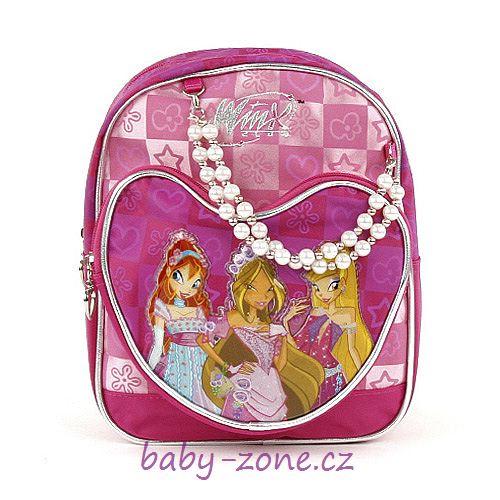 Batoh - baťůžek Princess WINX
