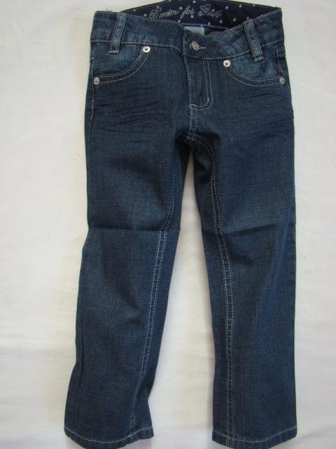 Dívčí džíny rovný stříh