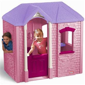Dětský zahradní domeček plastový Cambridge růžový