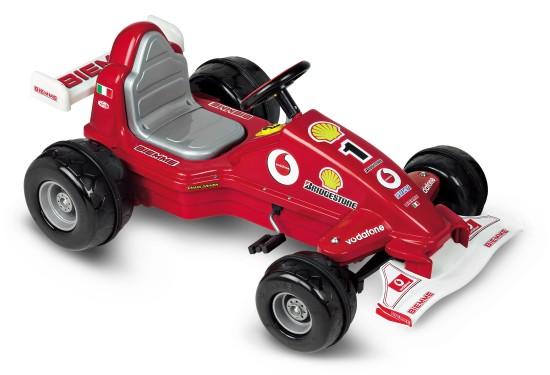 Šlapací auto formule červená GRAND PRIX