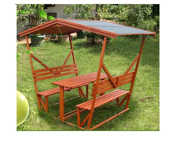 Dětský dřevěný pavilon