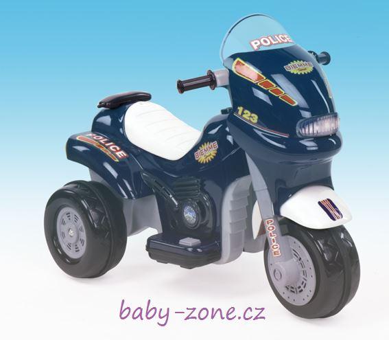 Elektrická motorka SPRINT Policie 6V