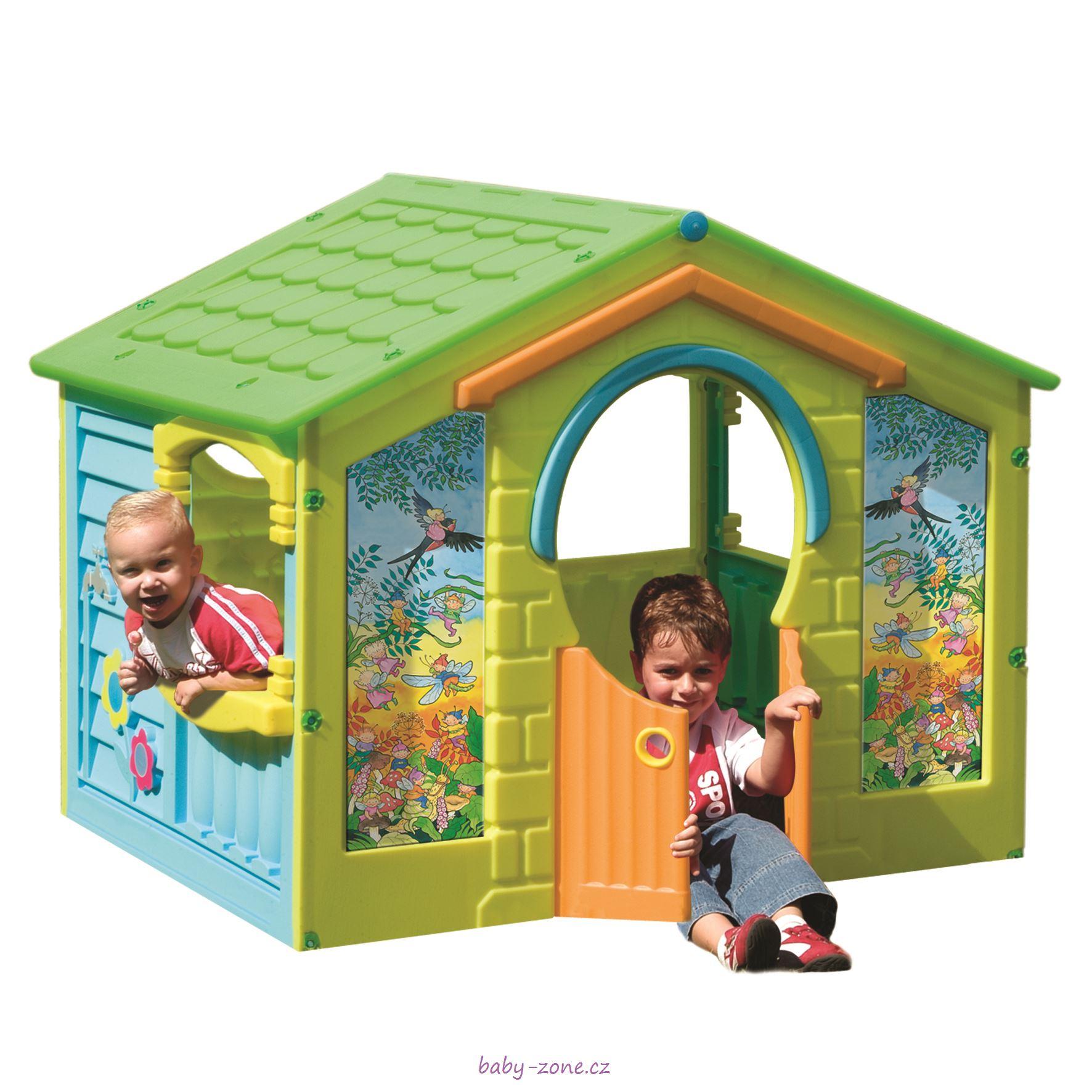 Dětský plastový domek Chaloupka