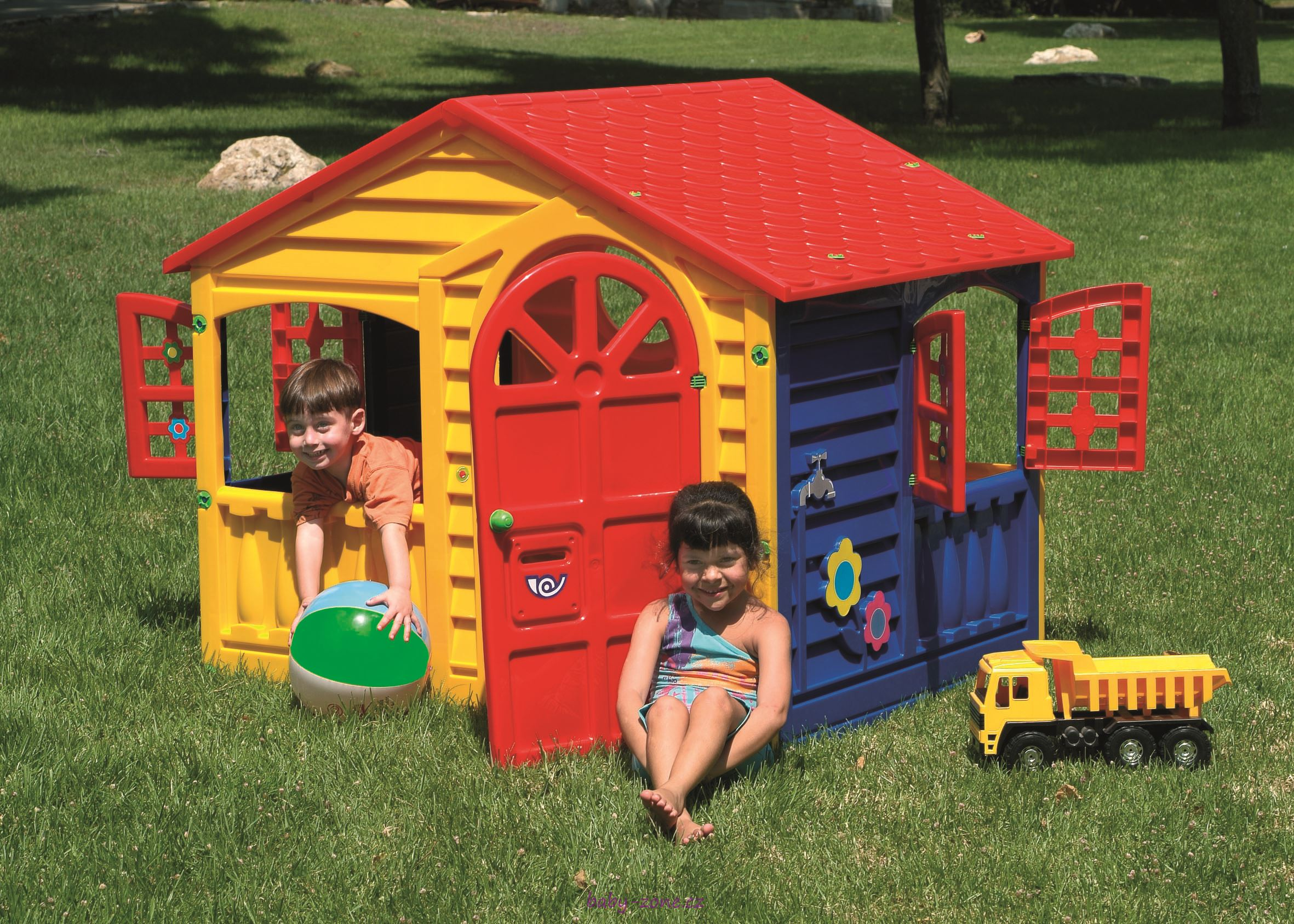 Dětský plastový domek Happy House