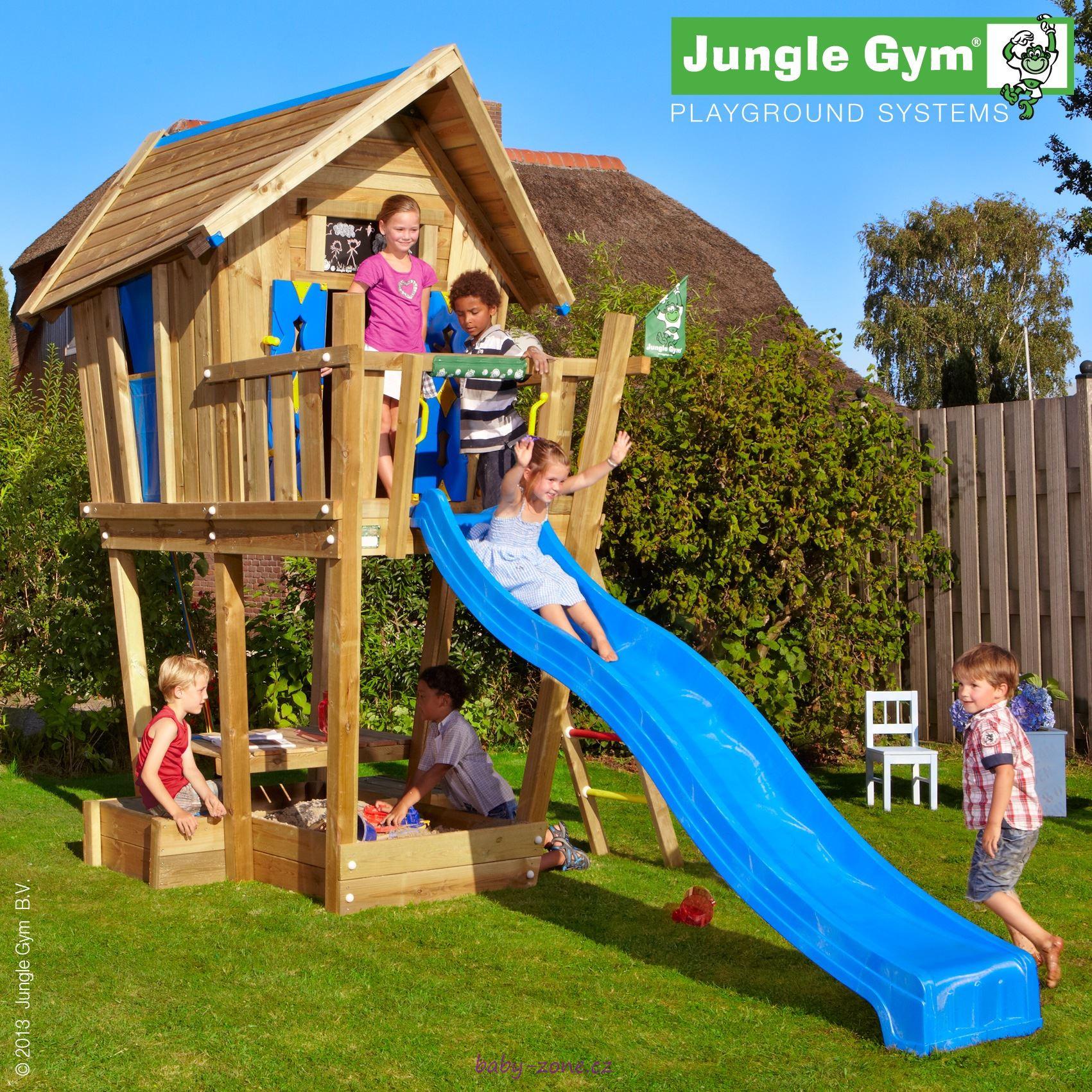 Dětské zahradní sestava Jungle Crazy s terasou Crasy XL
