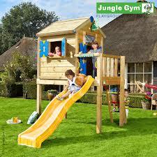 Dětské zahradní sestava Jungle Playhose s terasou L
