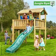 Dětské zahradní sestava Jungle Playhose s terasou X L