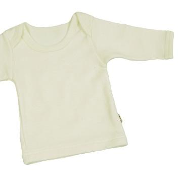 Dětské spodní prádlo - triko s dl. rukávem ze 100% merino vlny