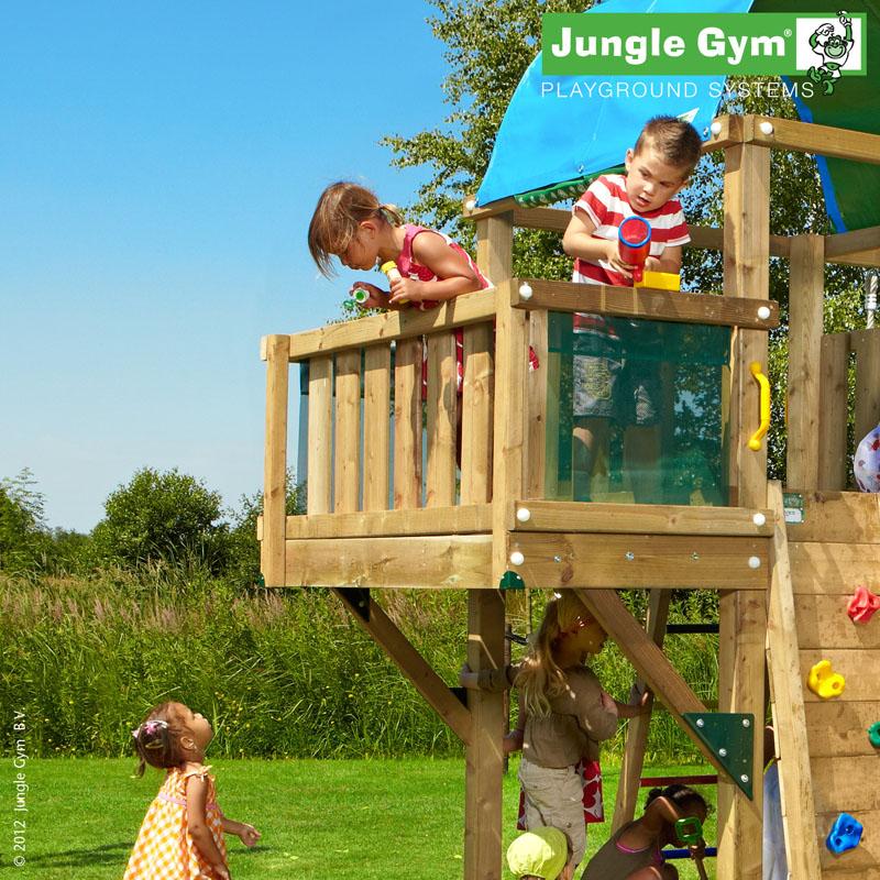 Přídavný modul - balkon - k dětskému hřišti Jungle Gym
