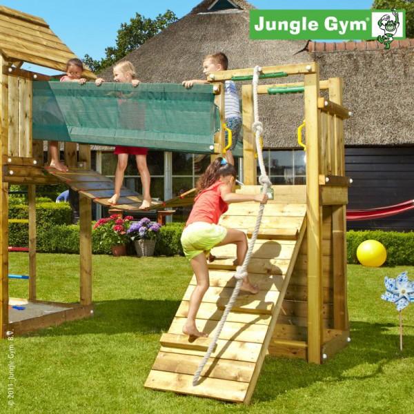 Přídavný modul - hrací věž s můstkem - k dětskému hřišti Jungle Gym