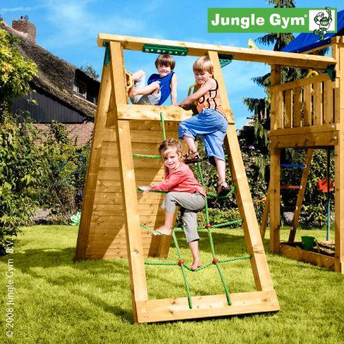 Přídavný modul - stěna s houpačkou - k dětskému hřišti Jungle Gym