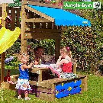 Přídavný modul - piknikový stolek - k dětskému hřišti Jungle Gym