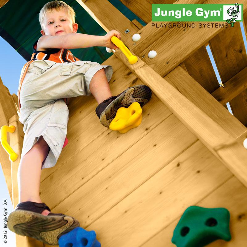 Přídavný modul - stěna - k dětskému hřišti Jungle Gym