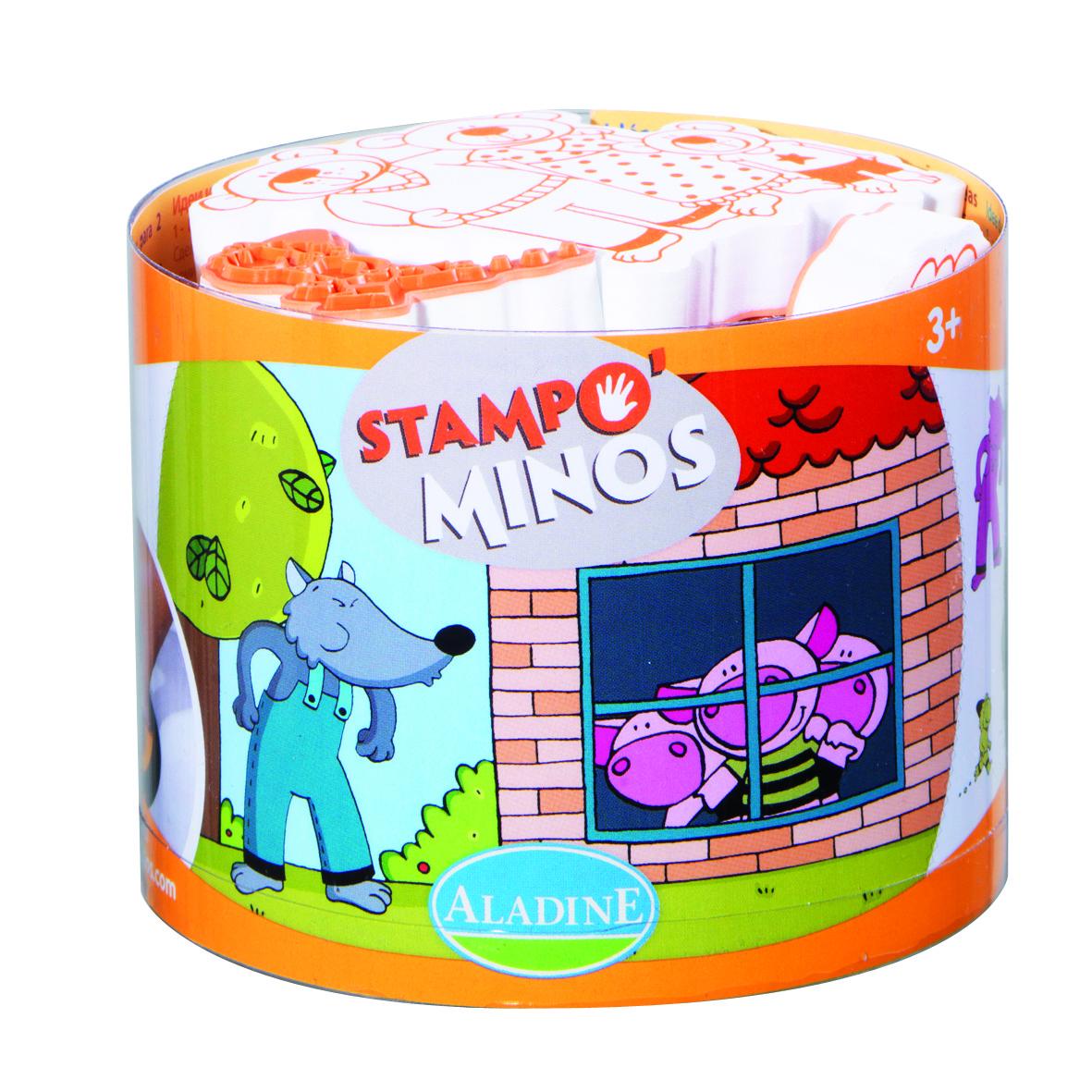 Razítka pro děti, z pohádky do pohádky, StampoMinos