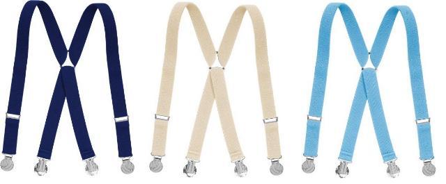 Dětské šle - kšandy s fotbal klipy 60 a 70 cm