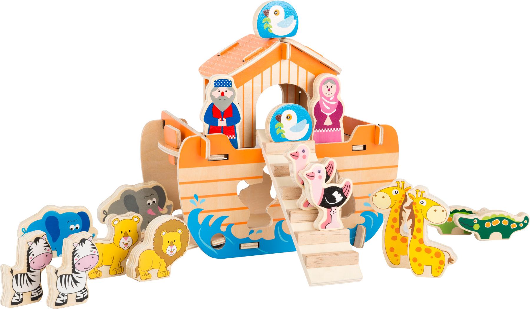 Dřevěná aktivity hra Noemova archa
