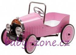 Šlapací auto BAGHERA Classic Pink