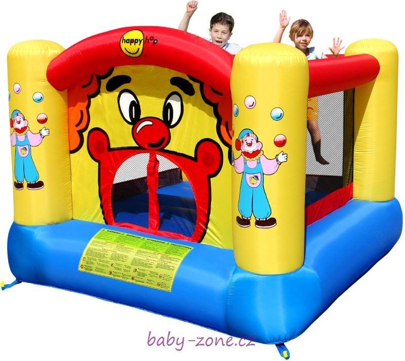 Nafukovací skákací hrad Klaun HappyHop