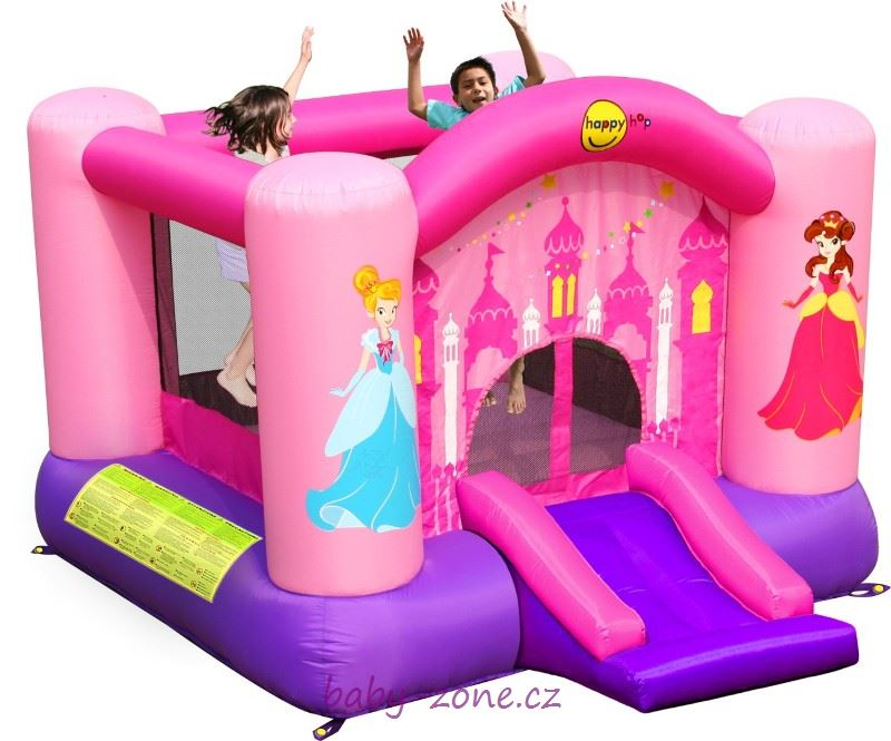 Nafukovací skákací hrad Pro princezny HappyHop