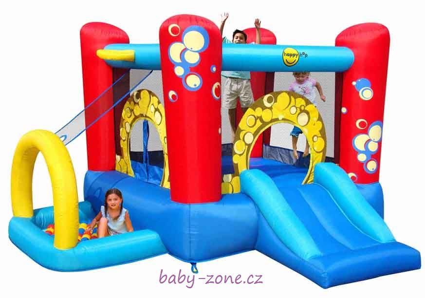 Nafukovací skákací hrad Hrací centrum Bublina HappyHop