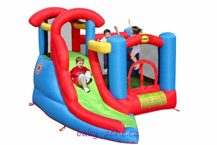 Nafukovací skákací hrad Hrací centrum 6 v 1 HappyHop