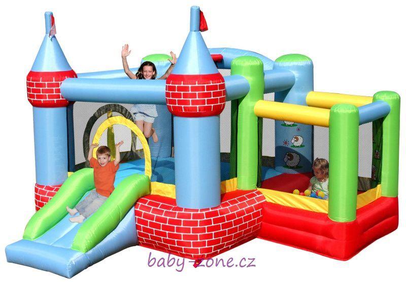 Nafukovací skákací hrad Zámek HappyHop