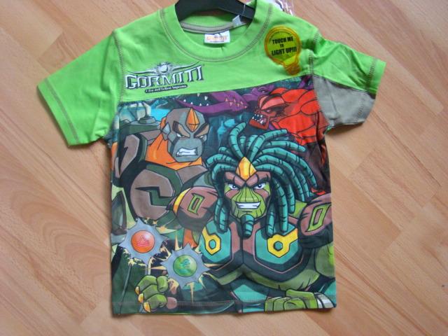 Chlapecké triko Gormiti s krátkým rukávem